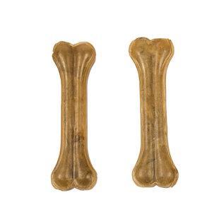 Duvo+ Kauw bot runderhuid 16,5 cm - 2 stuks