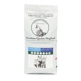 Greenheart-premiums Hondenvoer Puppy Medium  - Large Breeds