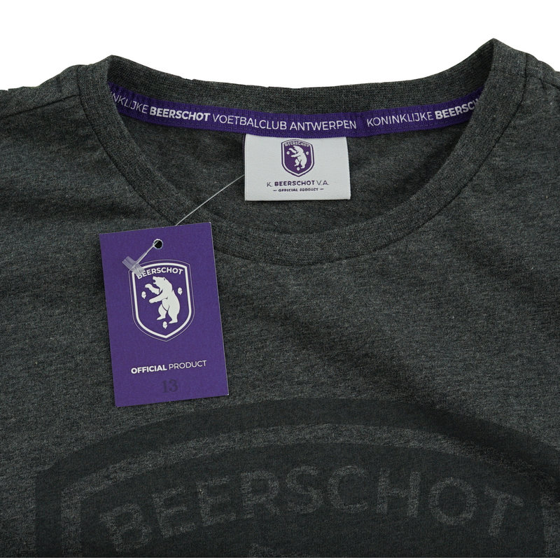 Beerschot T-shirt logo dark grey
