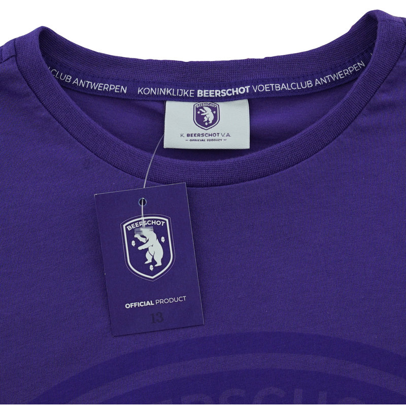Beerschot T-shirt Logo purple