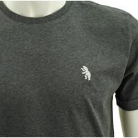 Beerschot T-shirt casual grey bear beer emblem