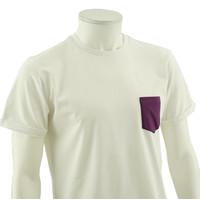 Beerschot T-shirt Casual Purple breast pocket