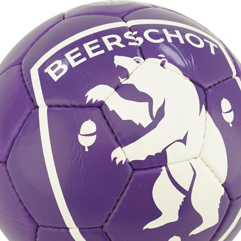 Beerschot Ball purple logo white size 5