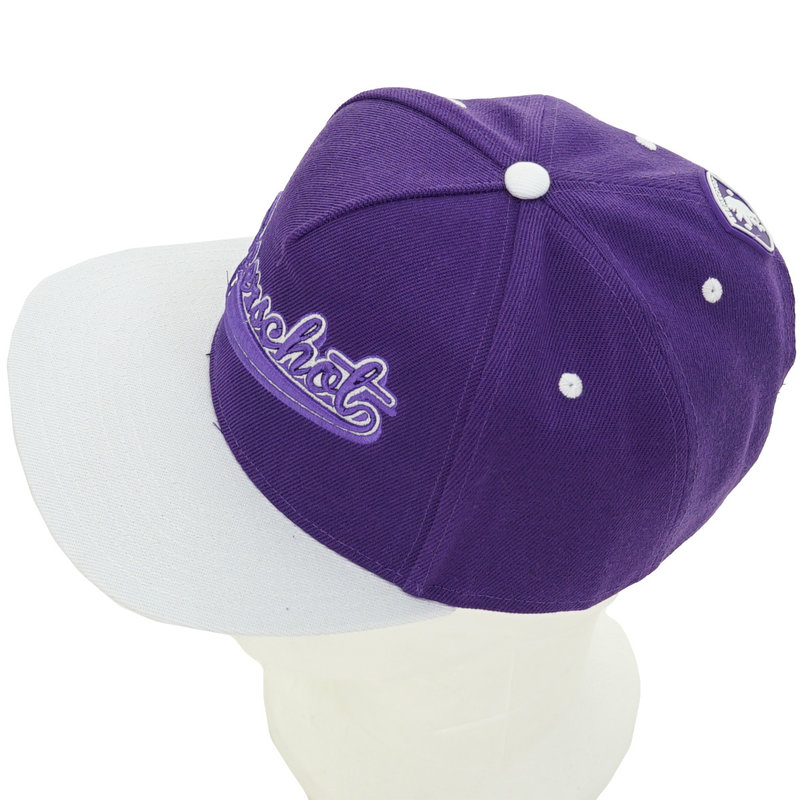 Beerschot Snapback purple adult  - rubber patch