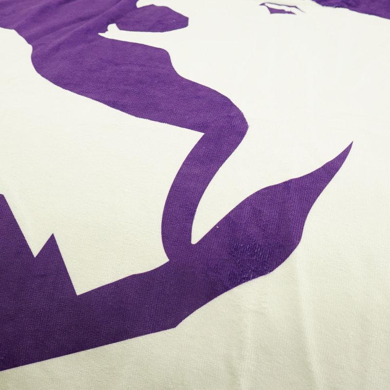 Beerschot Rugzakhanddoek paars logo