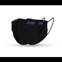 Beerschot Mondmaskers zwart (x2)