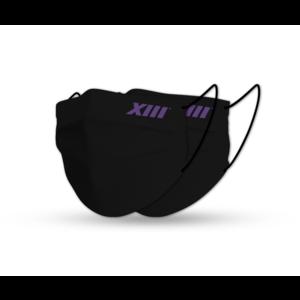 Face Masks XIII Black (x2)