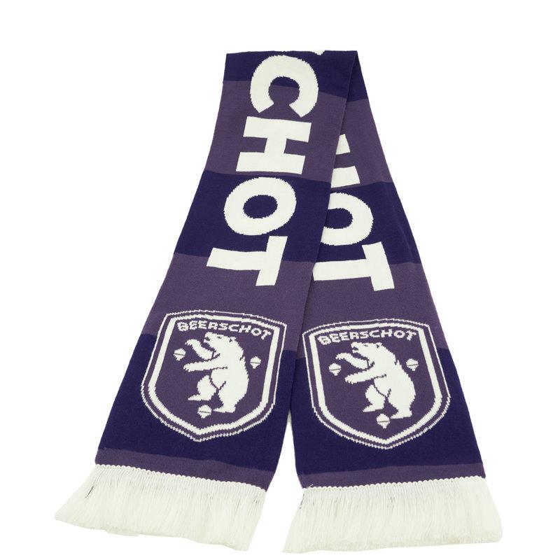 Beerschot Bar scarf dark and light purple