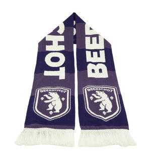 Bar scarf dark and light purple
