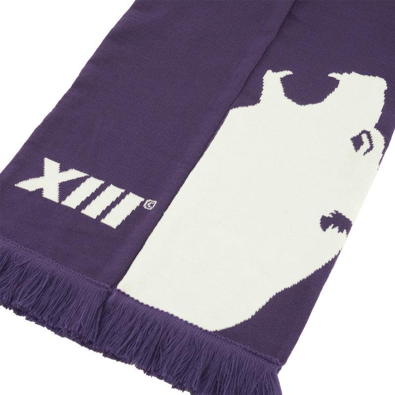 Beerschot Sjaal paars XIII groot logo