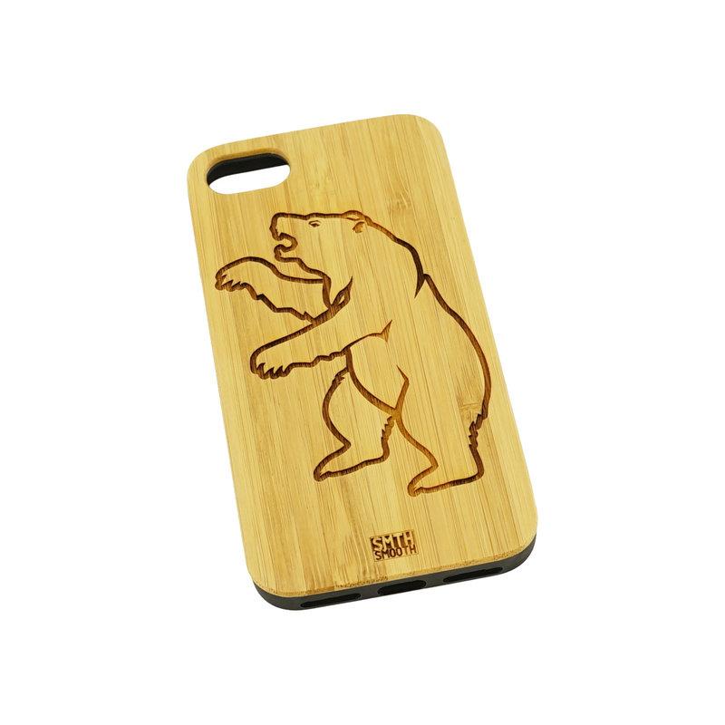 Beerschot Coque téléphone en bois clair