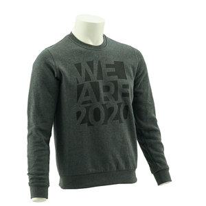 Sweater Darkgrey  We Are 2020