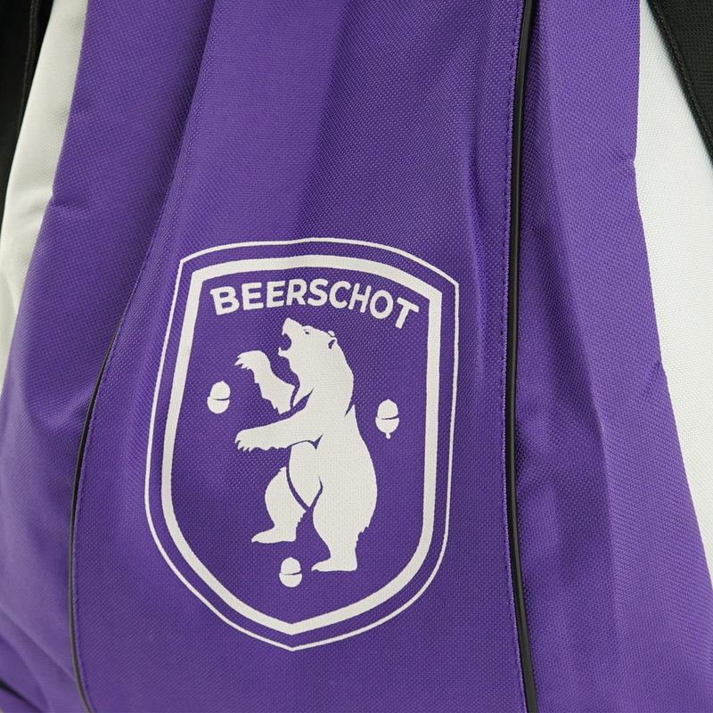 Beerschot Rugzak paars logo