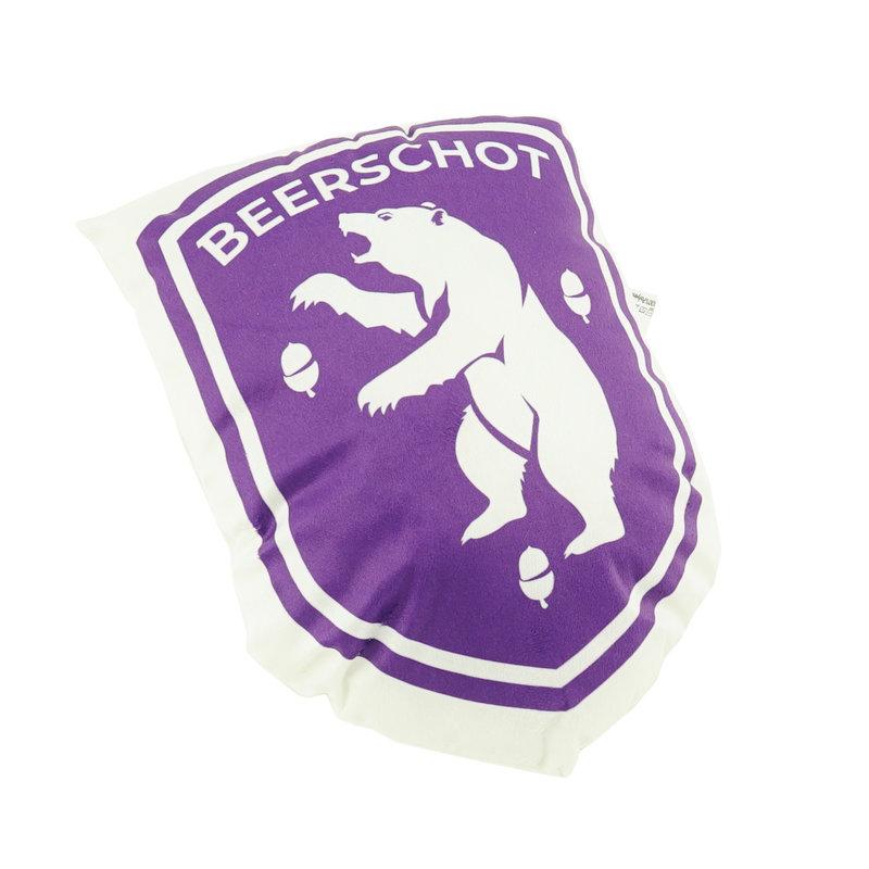 Beerschot 3D coussin logo