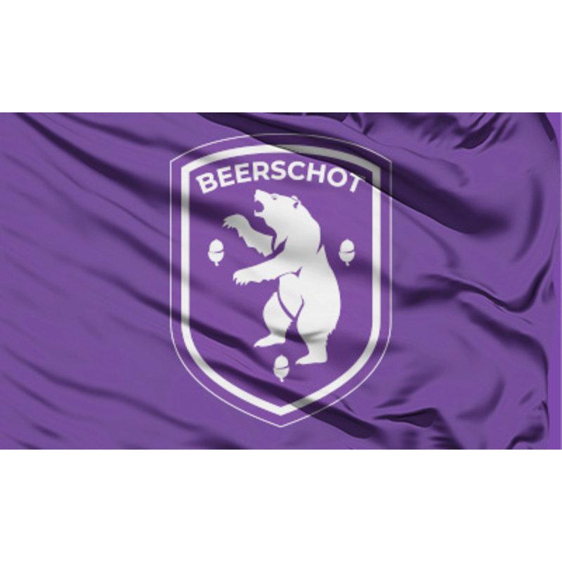Beerschot Drapeau logo 90x150cm