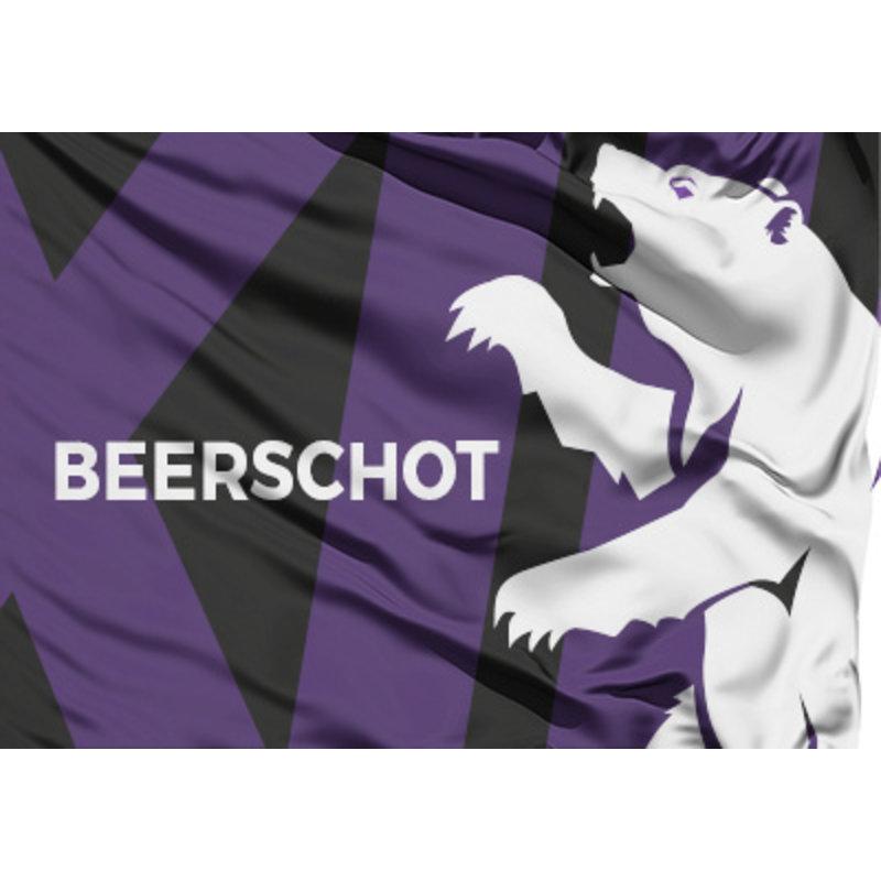Beerschot Vlag zwart beer XIII 70x100cm