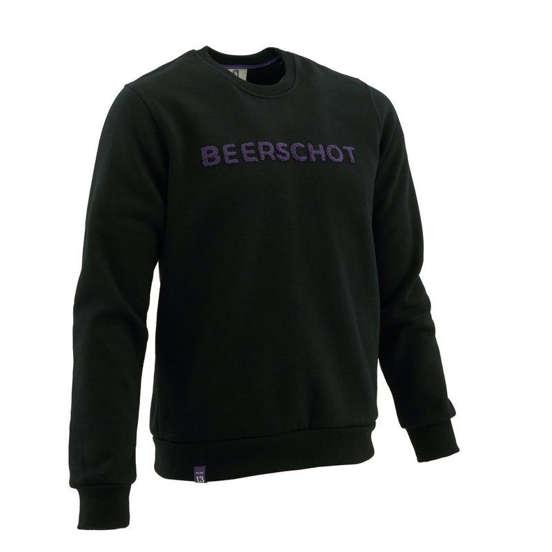 Beerschot Sweater casual zwart Terry