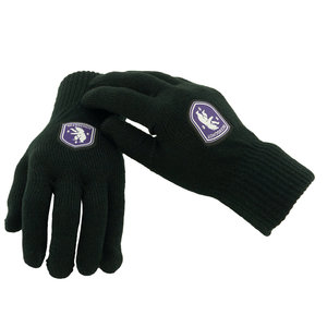 Black Gloves Logo - L