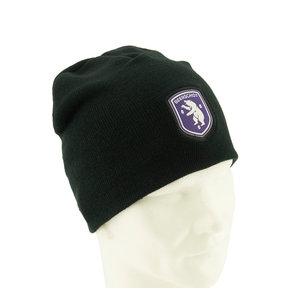 Black beanie logo - Senior