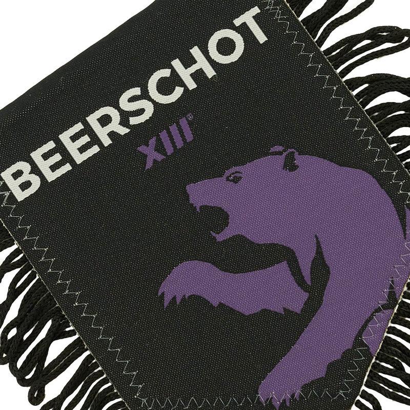 Beerschot Pennant woven black XIII