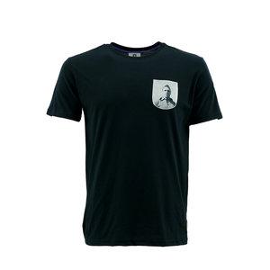 T-shirt zwart Coppens
