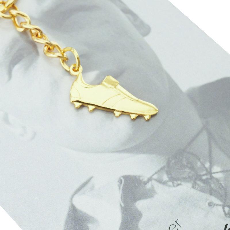 Beerschot Porte-clés chaussure d'or