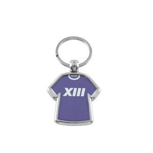 Porte-clés maillot metal XIII
