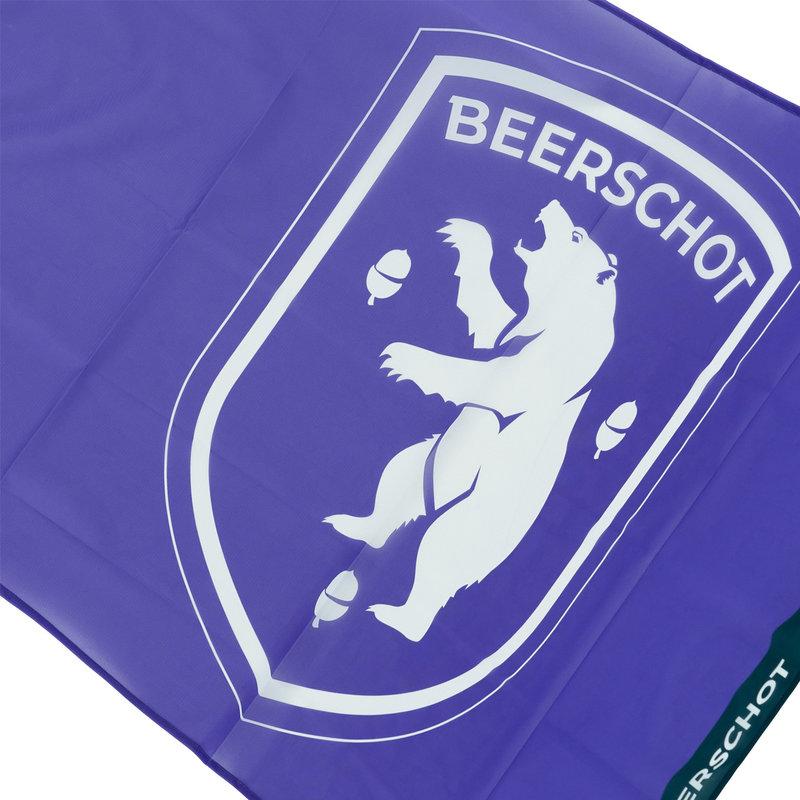 Beerschot Flag purple logo  90x150cm