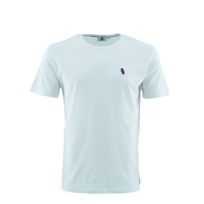 Beerschot T-shirt Casual Blanc Ours