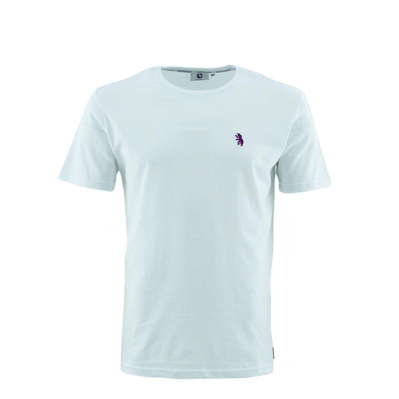 Beerschot T-shirt Casual White Bear