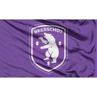 Beerschot Drapeau purpre logo  90x150cm