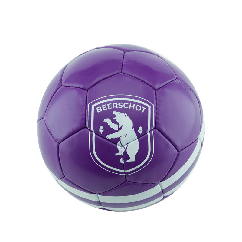Beerschot Balle purpre Size 5 XIII et logo