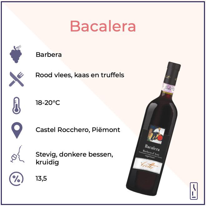 'Bacalera' Barbera d'Asti Superiore DOCG 2018