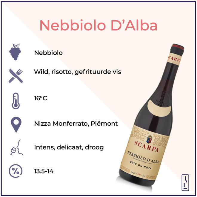 'Bric Du Nota' Nebbiolo D'Alba DOC 2017