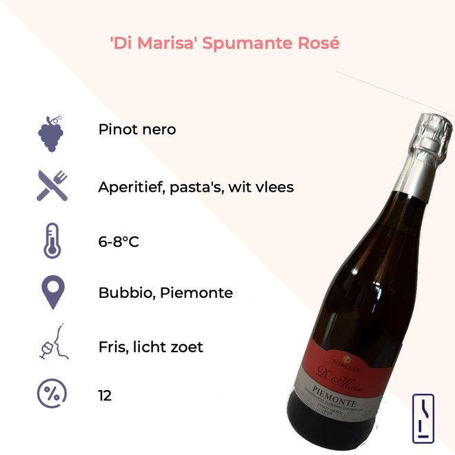 'Di Marisa' Piemonte Pinot Nero Spumante Brut Rosé DOC Bio
