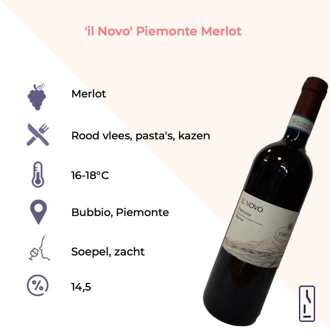 'Il Novo' Merlot Piemonte DOC Bio