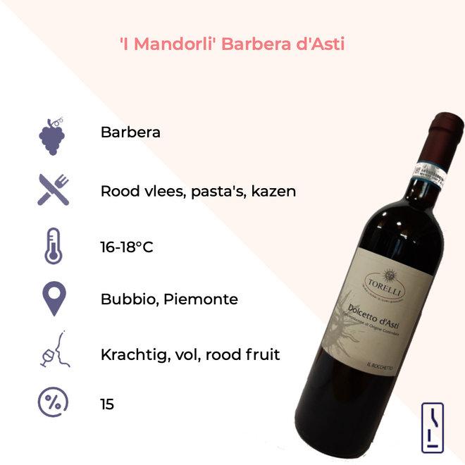 'I Mandorli' Barbera D'Asti DOCG Bio