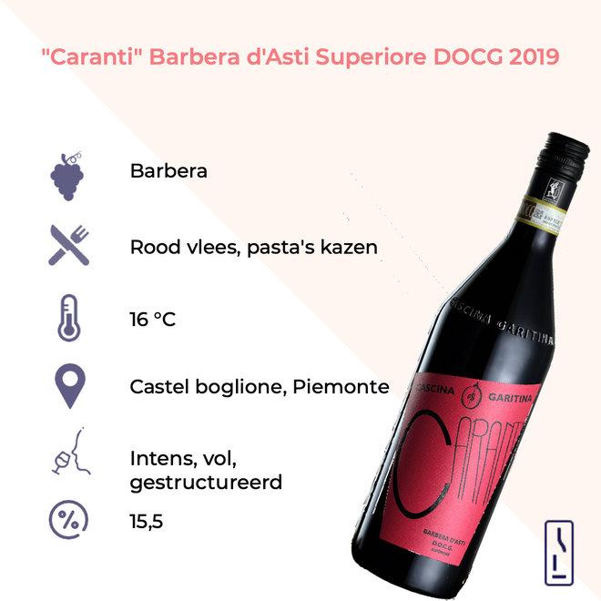 'Caranti' Barbera D'Asti Superiore DOCG 2017
