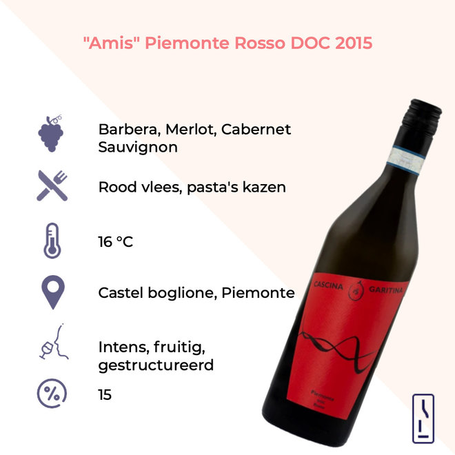 'Amis' Piemonte Rosso DOC
