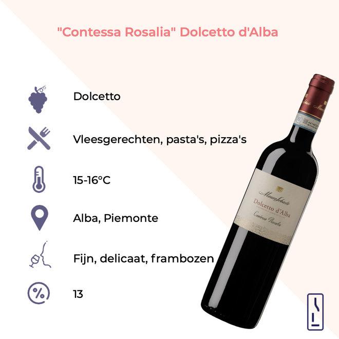 'Contessa Rosalia' Dolcetto d'Alba DOC 2019