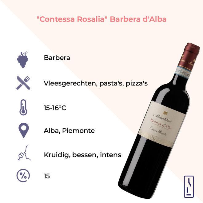 'Contessa Rosalia' Barbera D'Alba DOC 2018