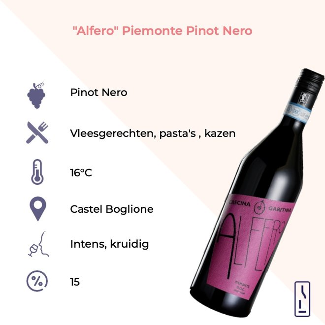 """Alfero"" Piemonte Pinot Nero DOC"