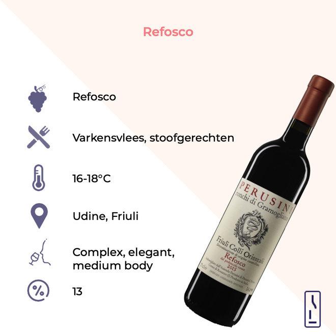 Refosco dal Peduncolo Rosso Friuli Colli Orientali