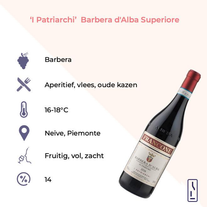 'I Patriarchi' Barbera d'Alba Superiore 2019