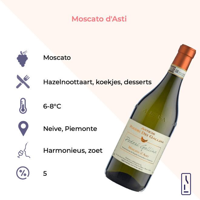 Gallina Moscato d'Asti DOCG 2020