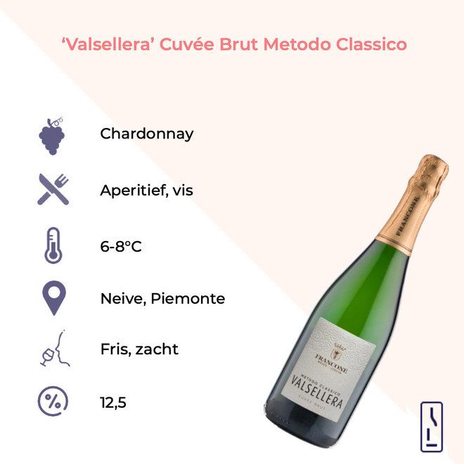 'Valsellera' Cuvée Brut Metodo Classico