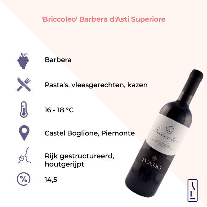 'Briccoleo' Barbera d'Asti Superiore DOCG  2018