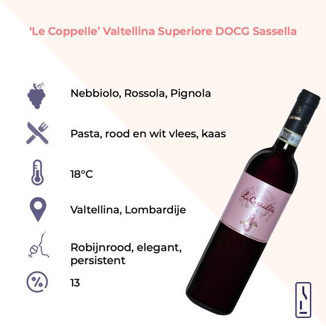 'Le Coppelle' Valtellina Superiore DOCG Sassella