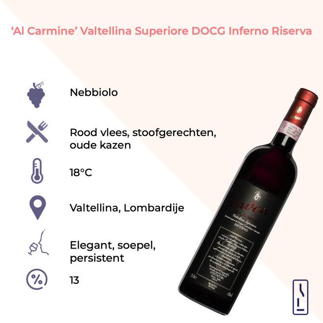 'Al Carmine' Valtellina Superiore DOCG Inferno Riserva