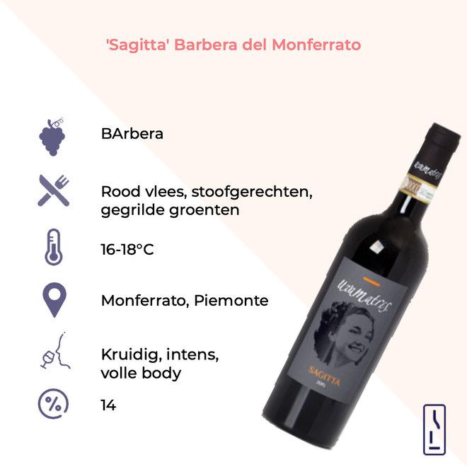 'Sagitta' Barbera del Monferrato 2016